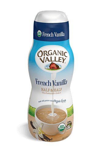French Vanilla Half & Half, Pint