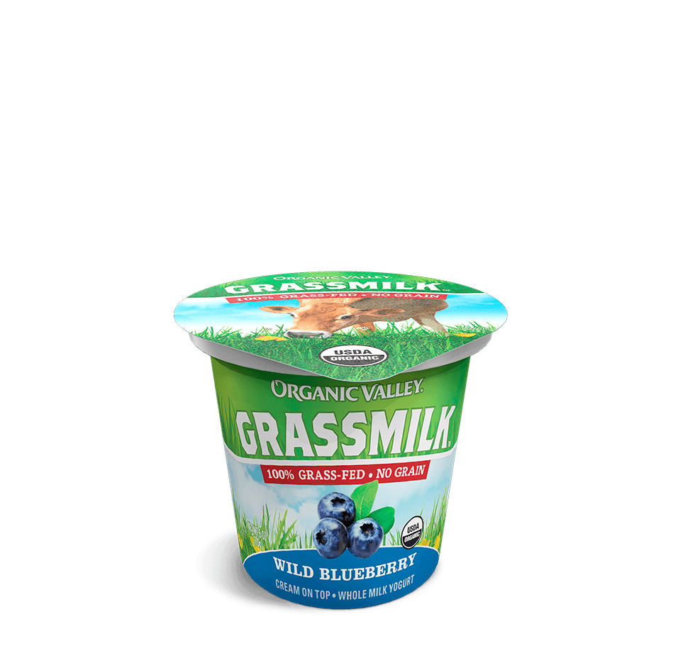 Blueberry Grassmilk Yogurt, 6 oz