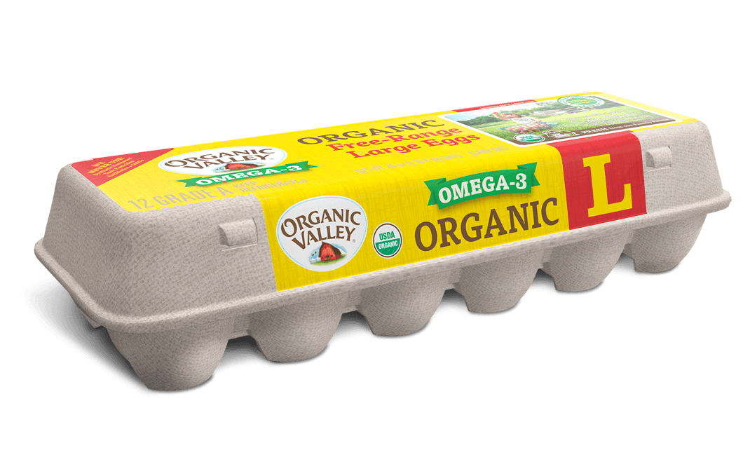 Large Omega-3 Eggs, Dozen