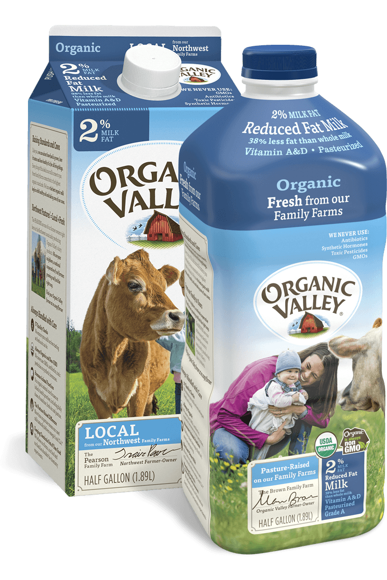 Reduced Fat 2% Milk, Pasteurized, Half Gallon