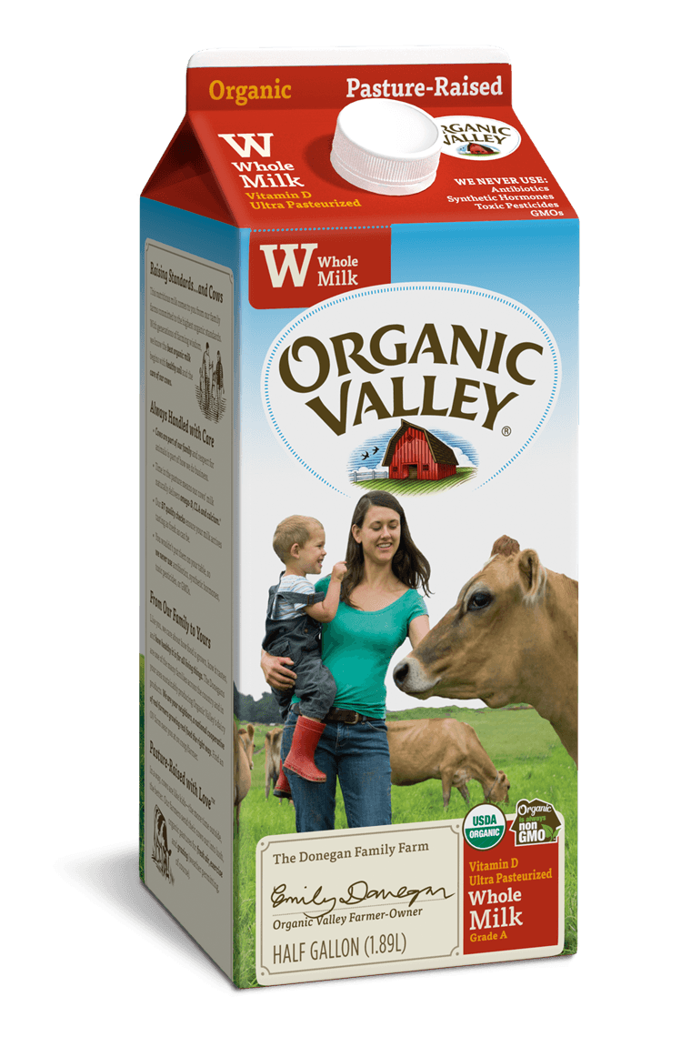 Whole Milk, Ultra Pasteurized, Half Gallon
