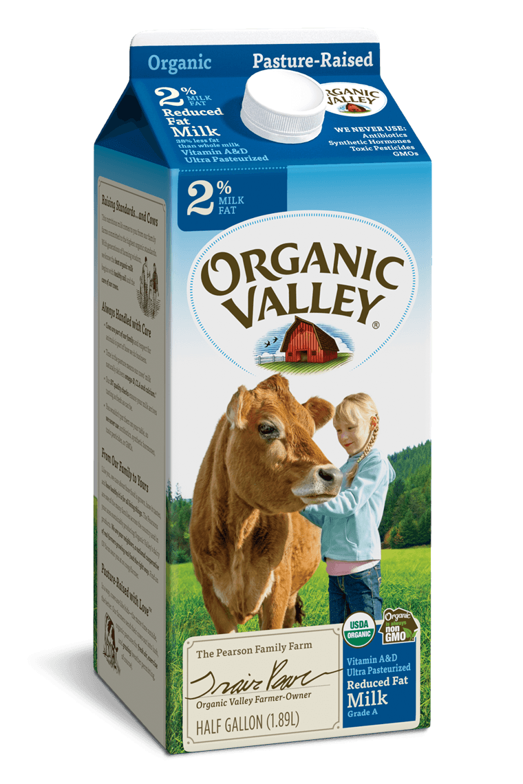 Reduced Fat 2% Milk, Ultra Pasteurized, Half Gallon