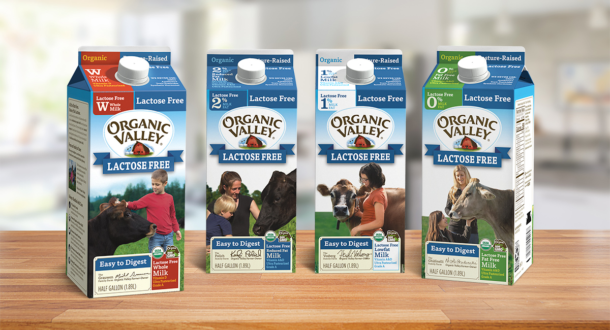 Lactose Free Organic Milk.