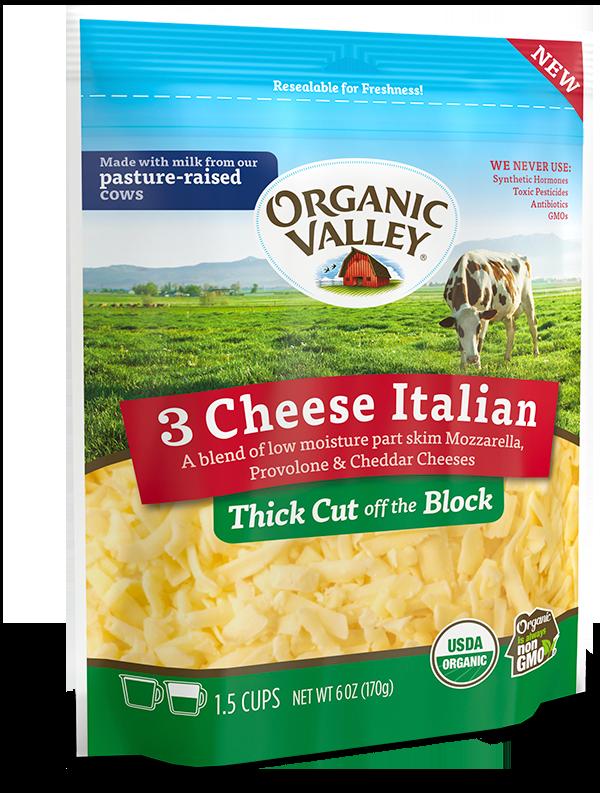 Thick Cut Shredded Italian Blend, 6 oz