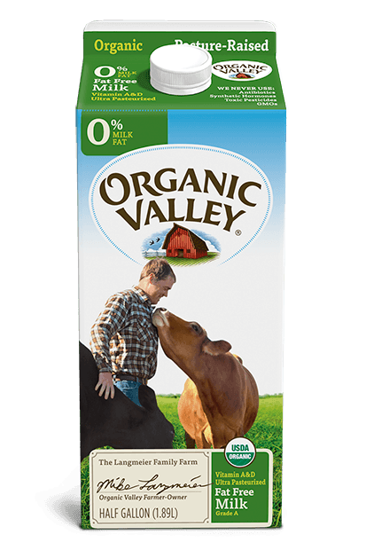 Organic Valley Fat Free Skim Milk