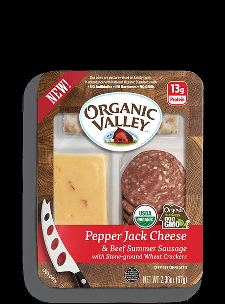 Pepper Jack & Original Summer Sausage Snack Kit