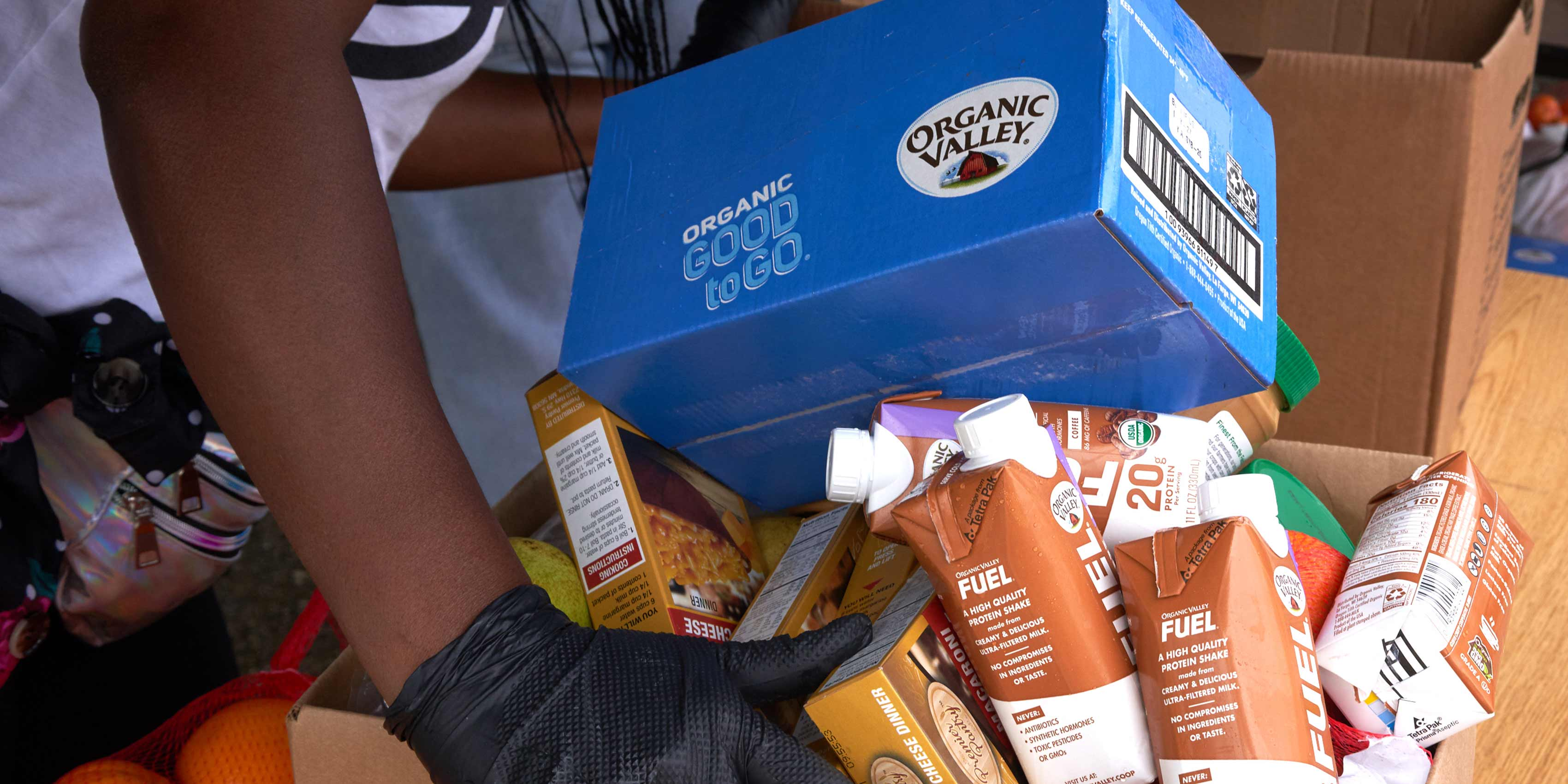 Organic Valley Donates Dairy and Meat to Food Pantries Nationwide