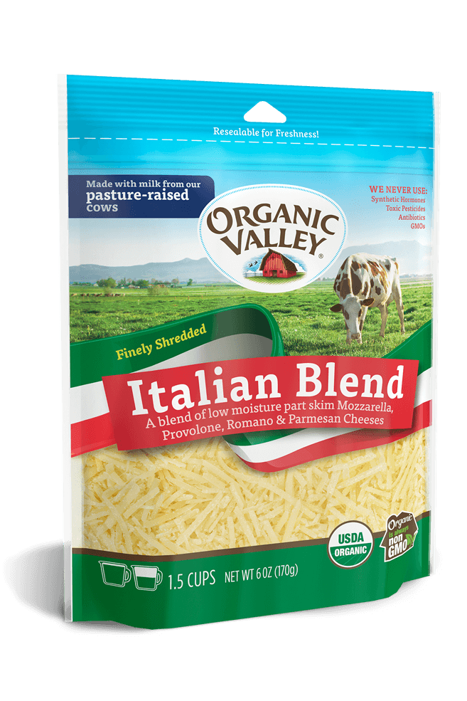 Shredded Italian Blend, 6 oz