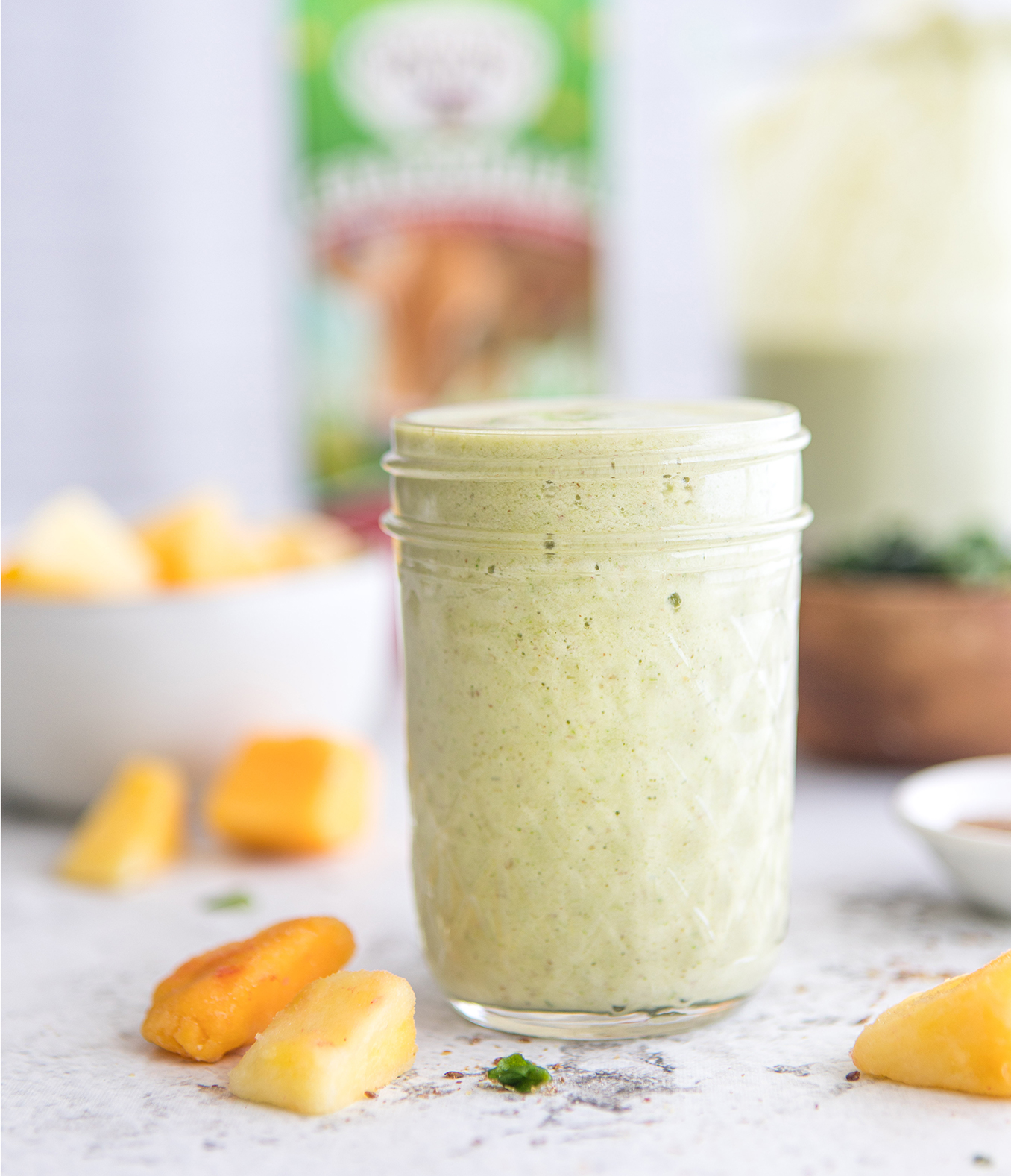 Kick-Grass Tropical Green Smoothie