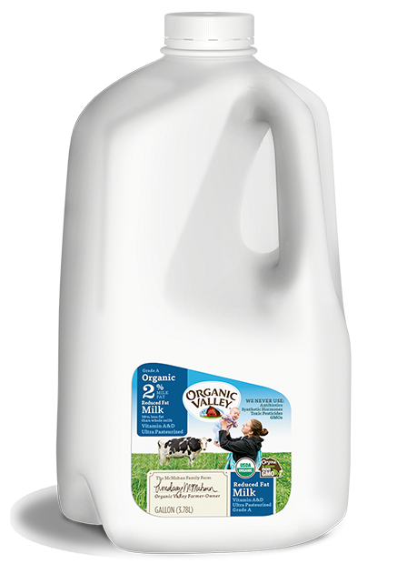 Reduced Fat 2% Milk, Ultra Pasteurized, Gallon