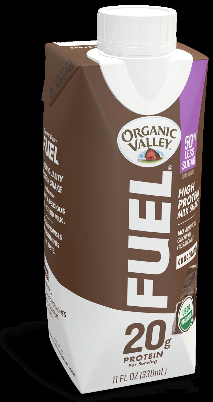 Chocolate Organic Fuel Protein Shake