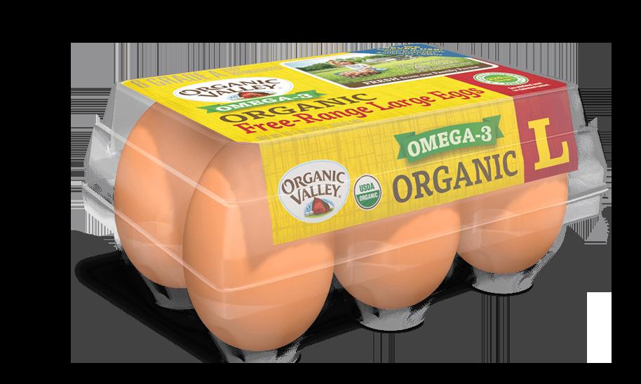 Large Omega-3 Eggs, Half Dozen