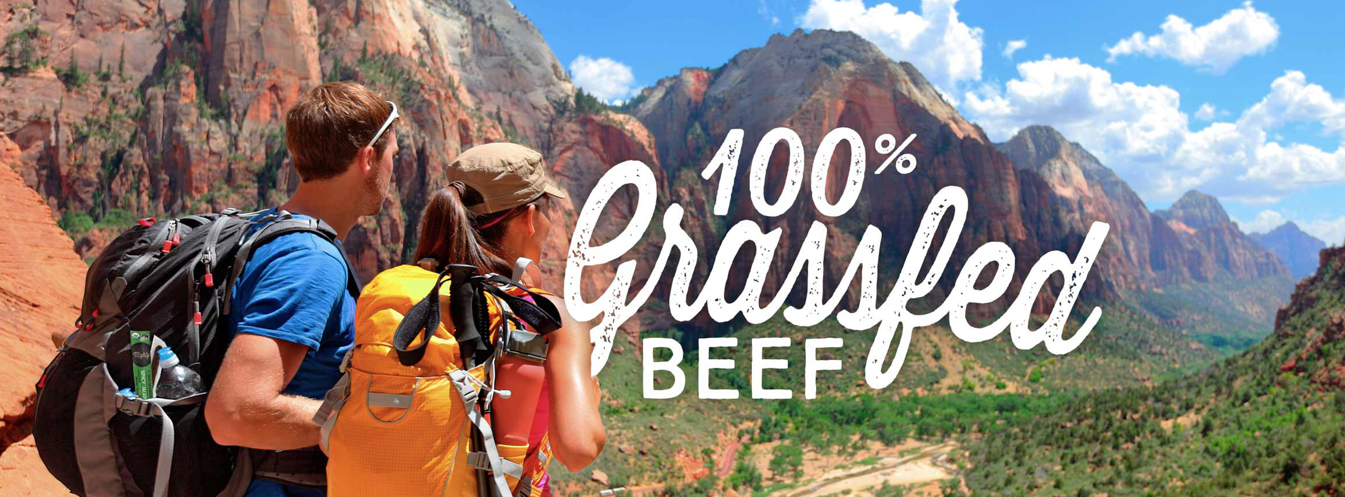 Mighty Organic Pioneers First Organic, 100% Grassfed Beef Snack Stick
