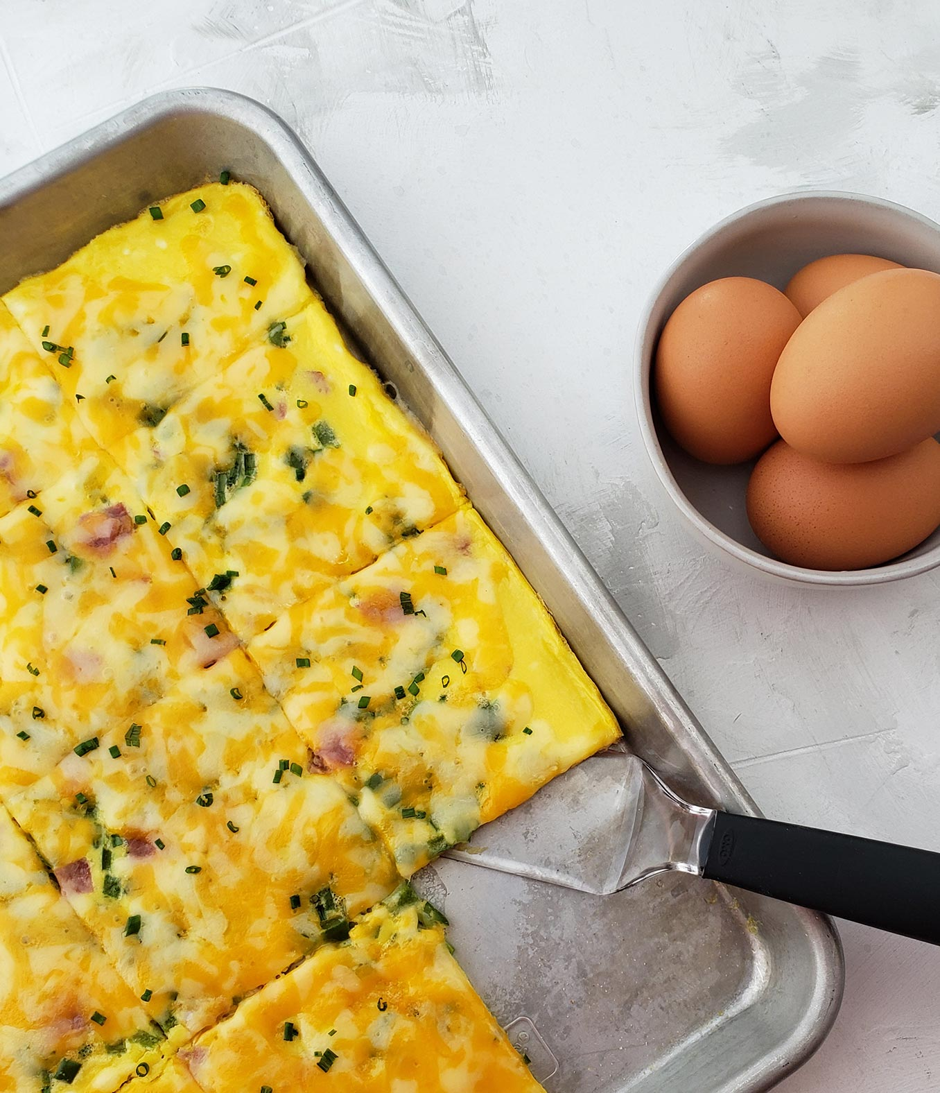 Sheet Pan Breakfast Egg Sandwich