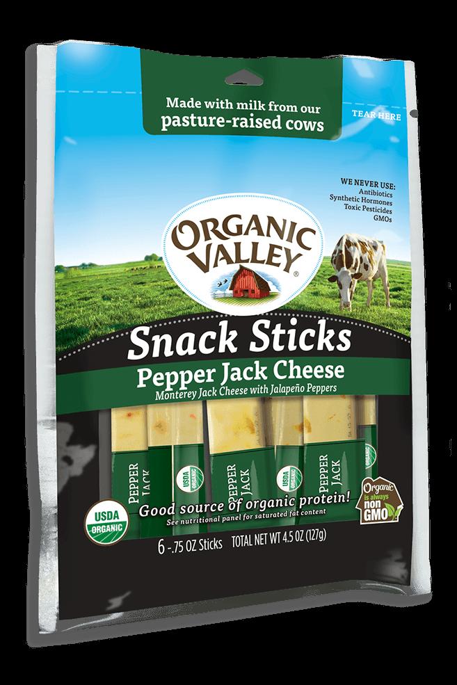 Pepper Jack Snack Sticks