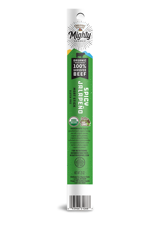 Jalapeño Grassfed Beef Stick