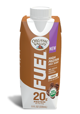 Coffee Organic Fuel Protein Shake