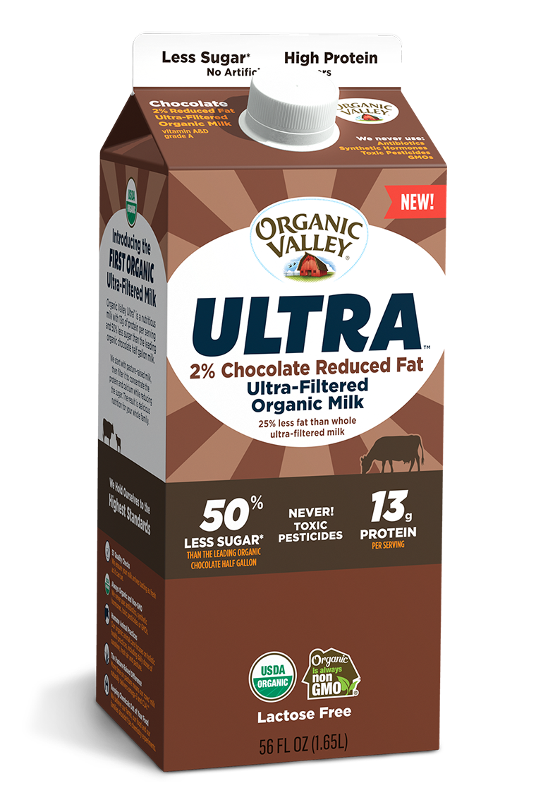 Ultra-Filtered Chocolate Milk, Ultra Pasteurized, 56 oz