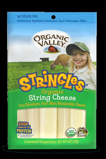 Mozzarella Stringles, 1 oz sticks