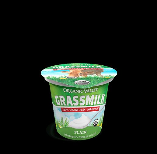 Plain Grassmilk Yogurt, 6 oz
