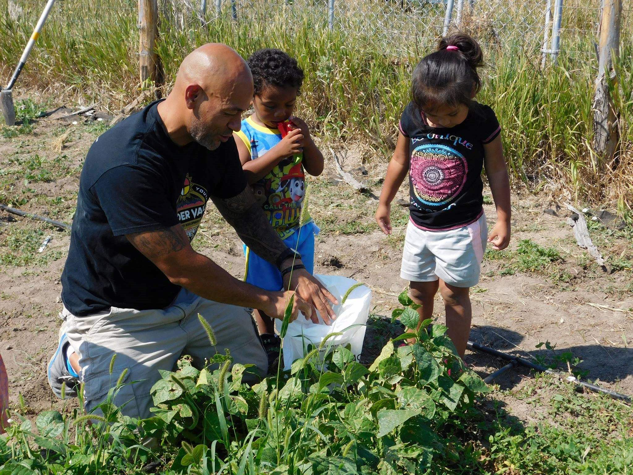 Nick Hernandez is empowering Lakota youth to be involved in the food that comes to their plates.