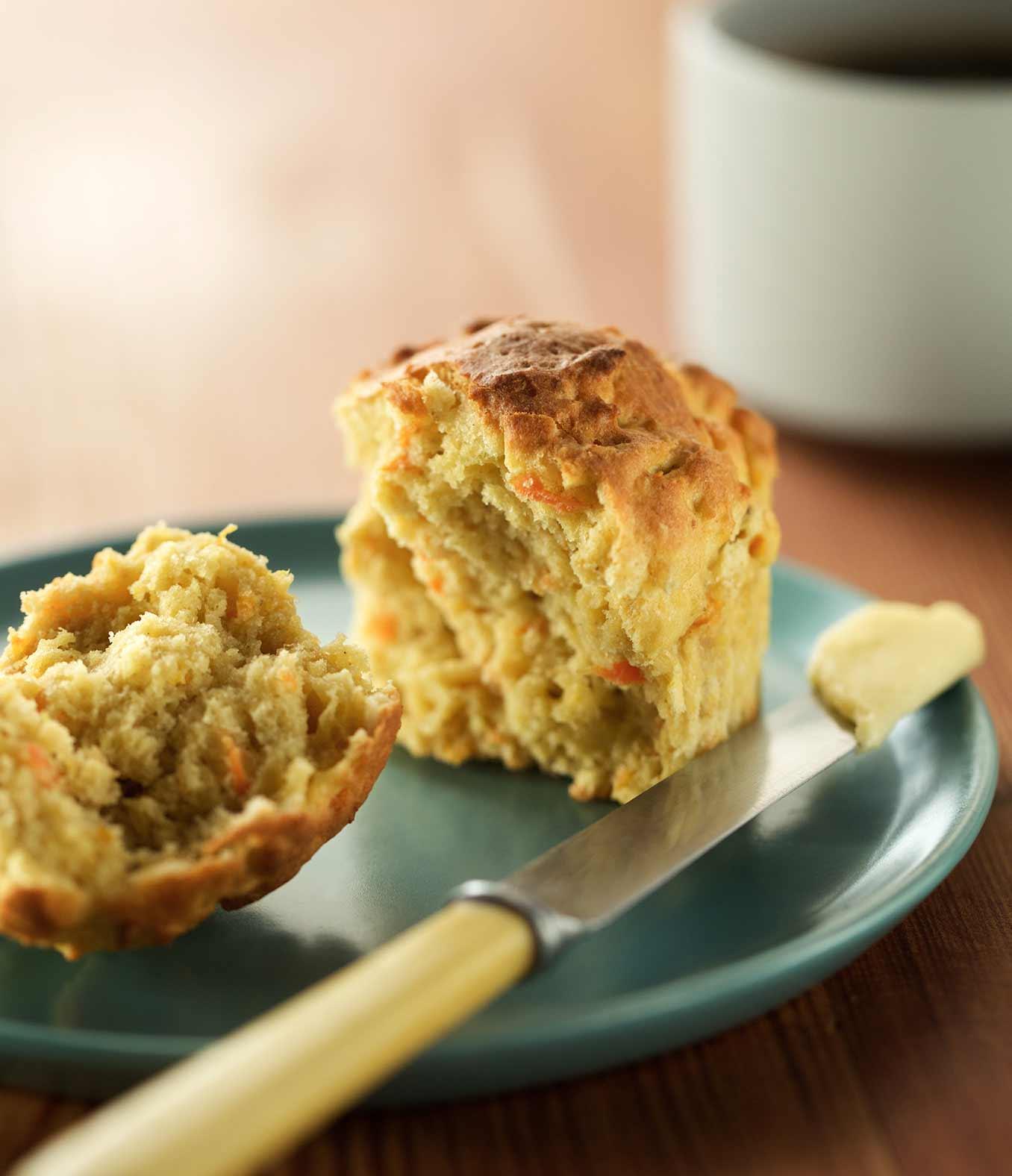 Gluten-Free Carrot Orange Muffins