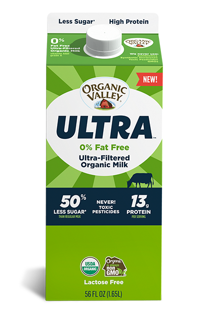 Ultra-Filtered Fat Free Milk, Ultra Pasteurized, 56 oz