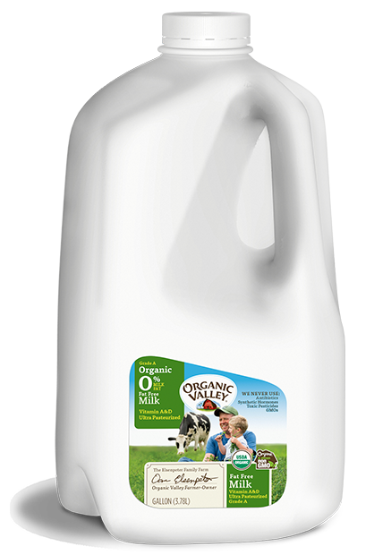 Fat Free Skim Milk, Ultra Pasteurized, Gallon