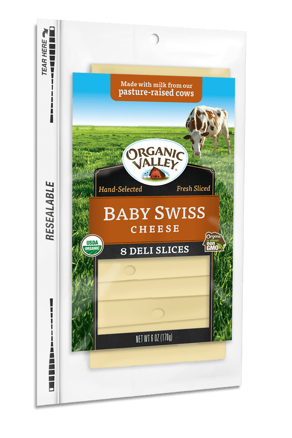 Baby Swiss Slices, 6 oz