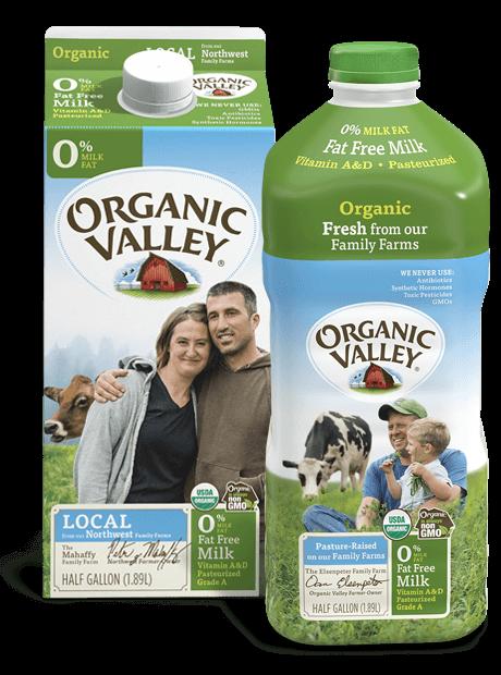 Fat Free Skim Milk, Pasteurized, Half Gallon