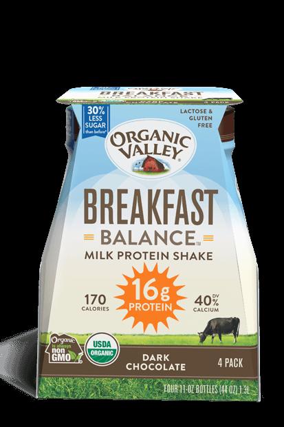 Dark Chocolate Breakfast Balance Protein Shake, 4 pack