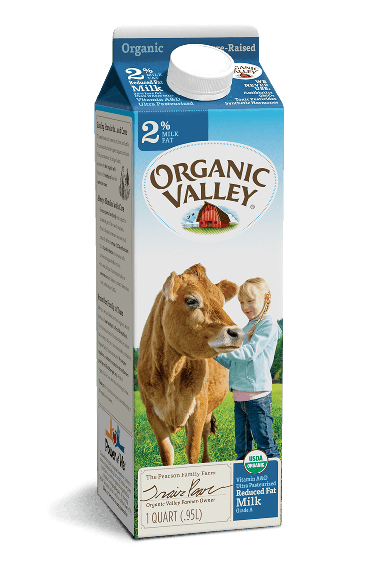 Reduced Fat 2% Milk, Ultra Pasteurized, Quart
