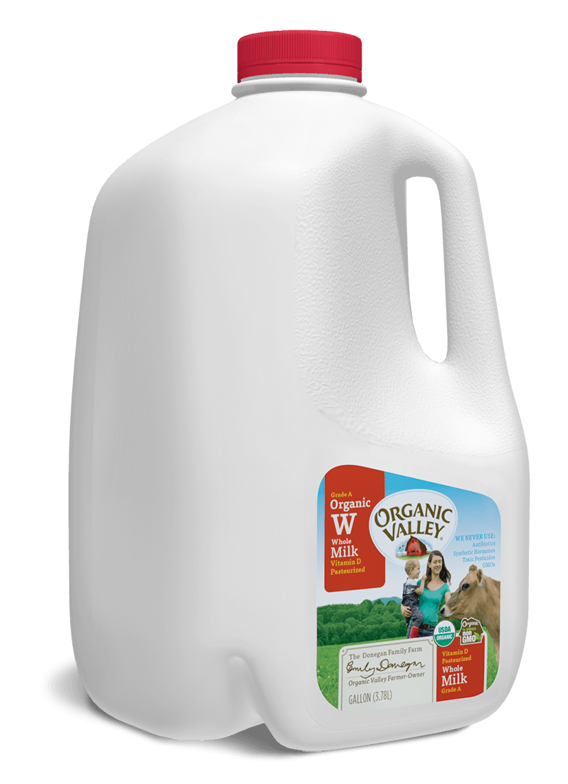 whole milk pasteurized gallon buy organic valley near you