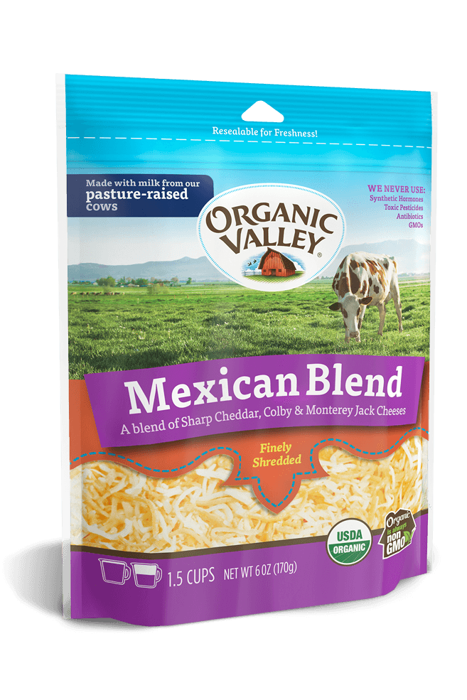 Shredded Mexican Blend, 6 oz