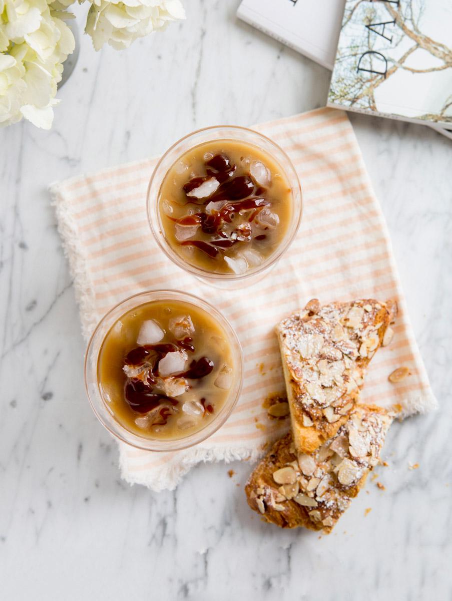 Iced Caramel Latté