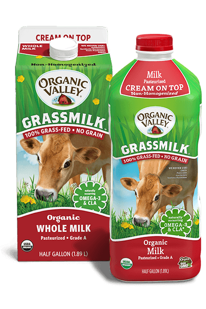 Whole Cream on Top Grassmilk, Half Gallon