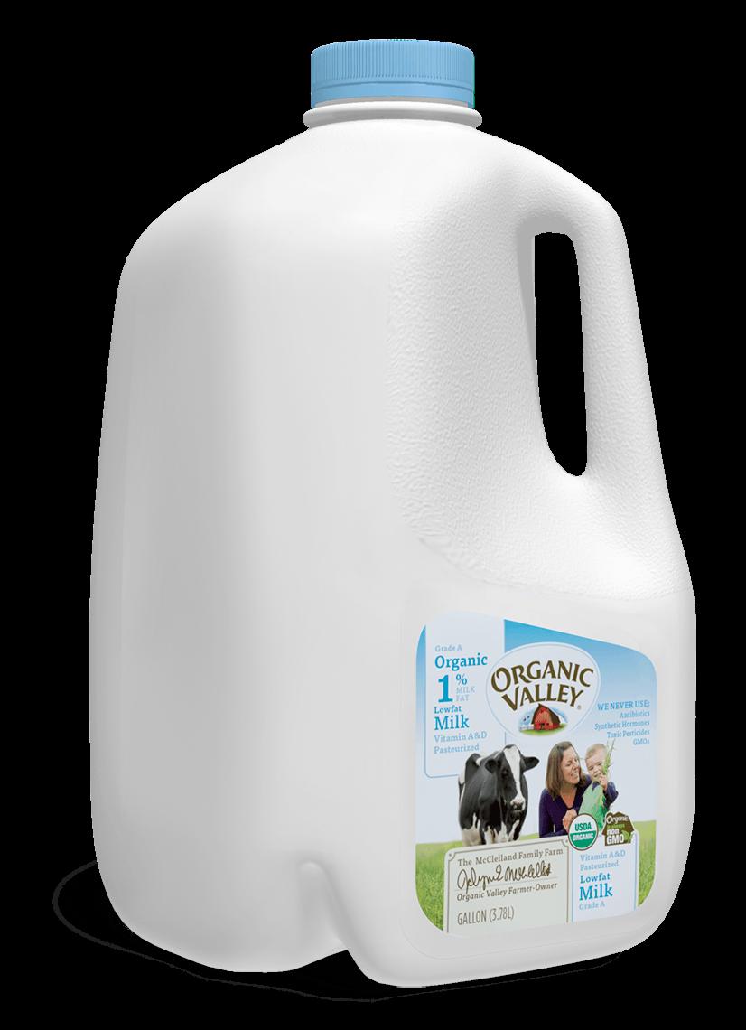 Lowfat 1% Milk, Pasteurized, Gallon