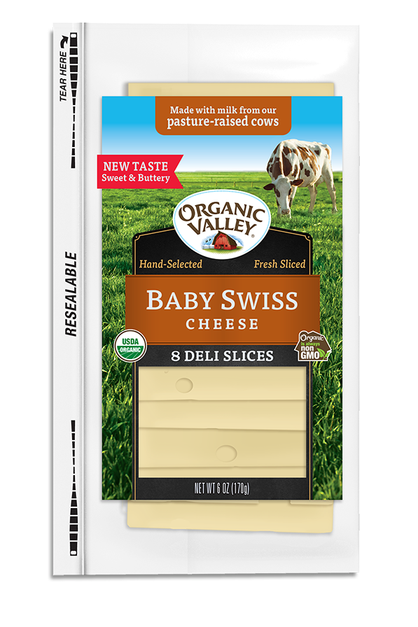 Baby Swiss Slices, 6 oz