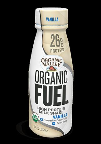 Vanilla Organic Fuel Protein Shake