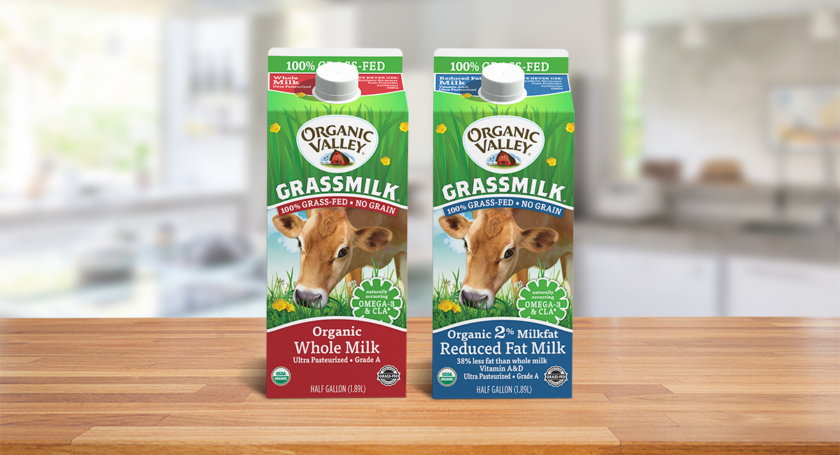 Organic Grass Fed Milk