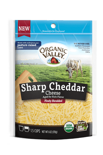 Shredded Sharp Cheddar, 6 oz