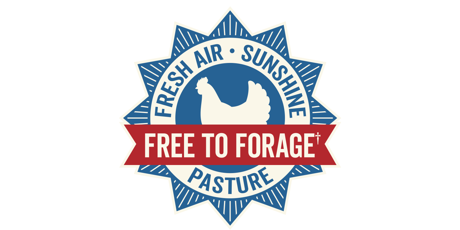 <p>Our Free to Forage seal on our egg cartons means Organic Valley hens have been given fresh air, sunshine and organic pasture.</p>