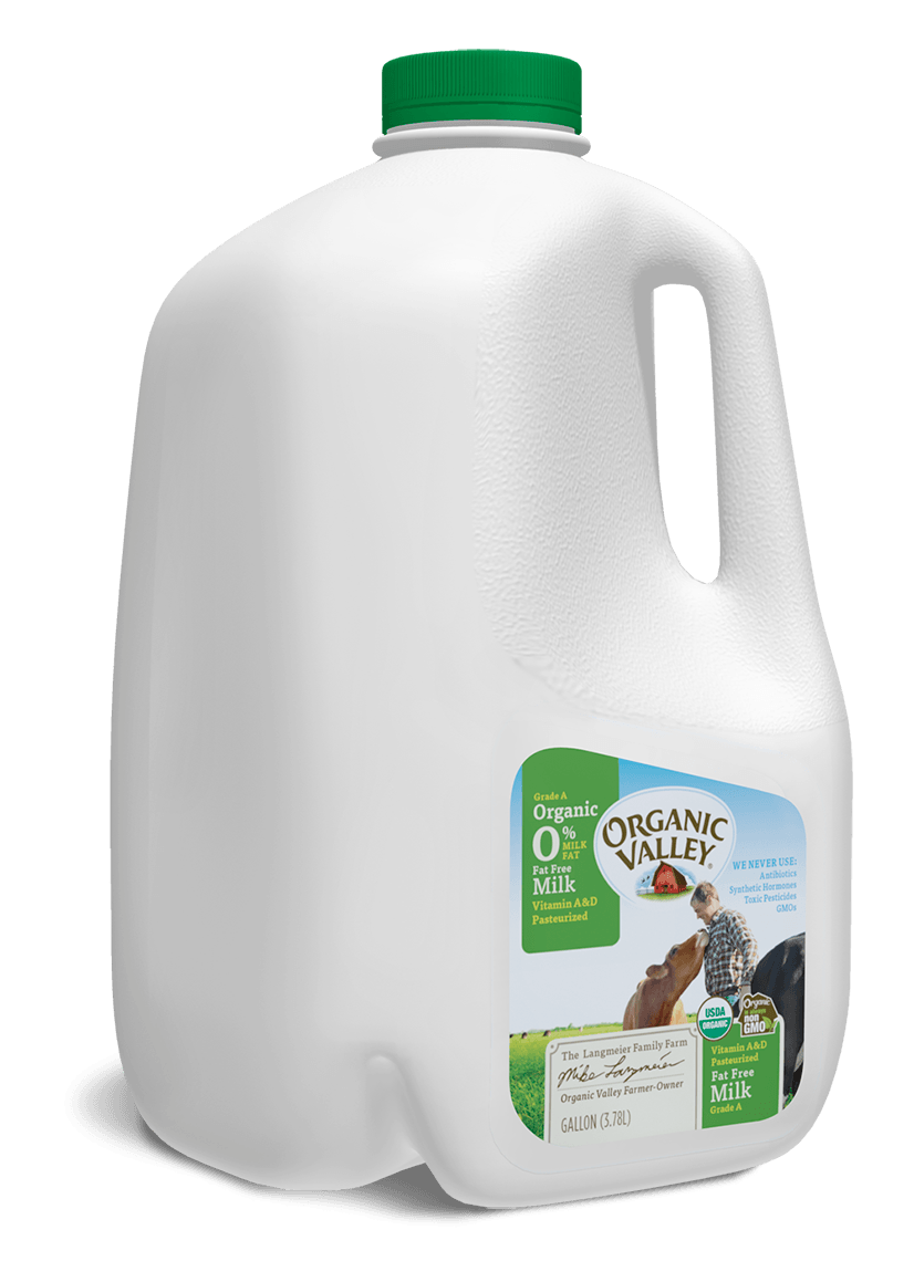 Fat Free Skim Milk, Pasteurized, Gallon