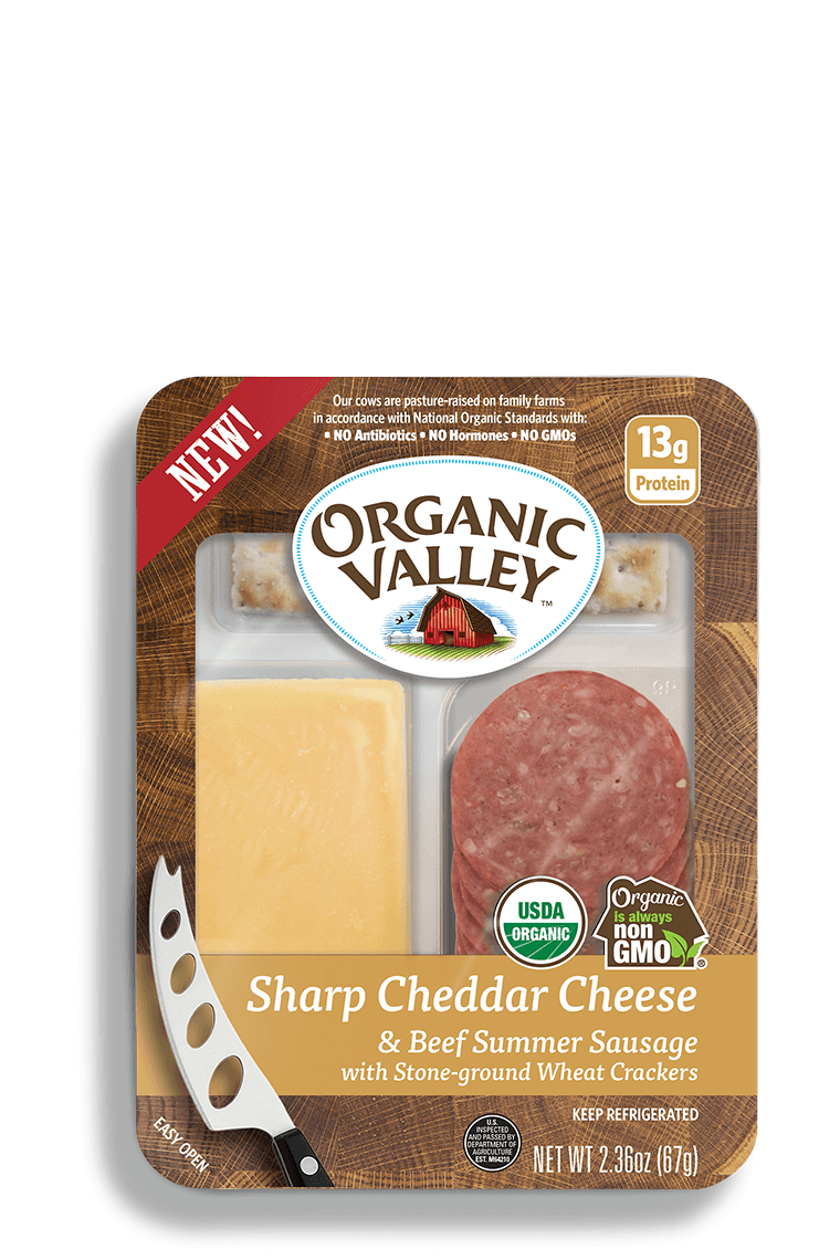 Sharp Cheddar & Original Summer Sausage Snack Kit