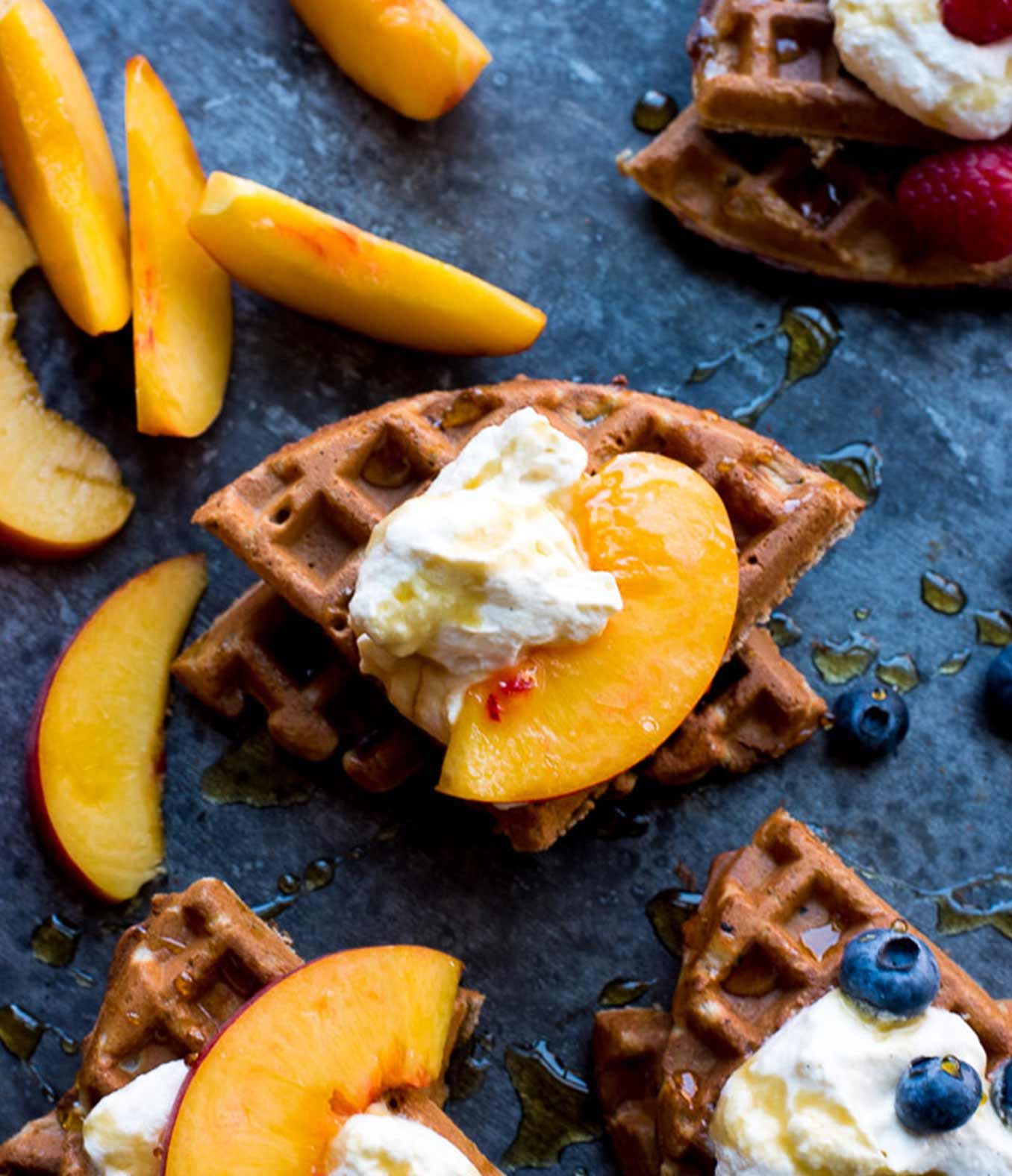 Blender Buckwheat Waffles