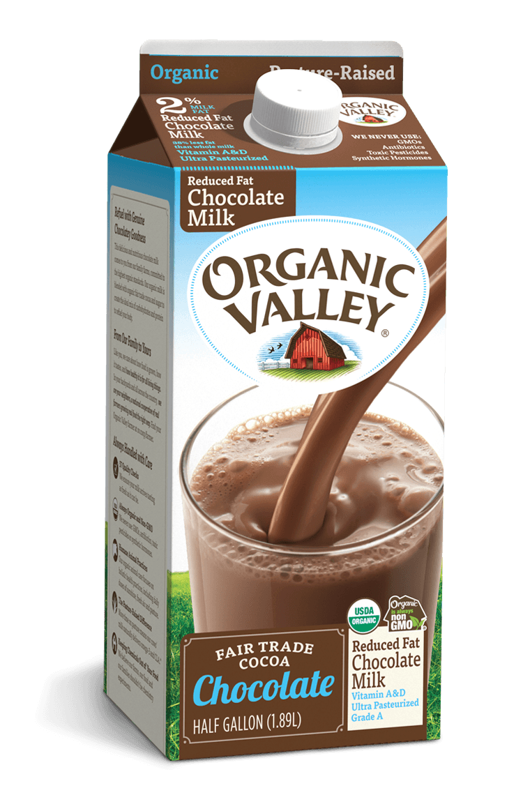 Reduced Fat 2% Chocolate Milk, Half Gallon