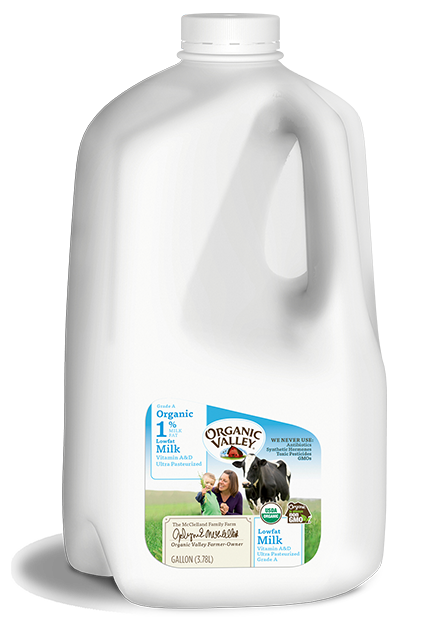 Lowfat 1% Milk, Ultra Pasteurized, Gallon