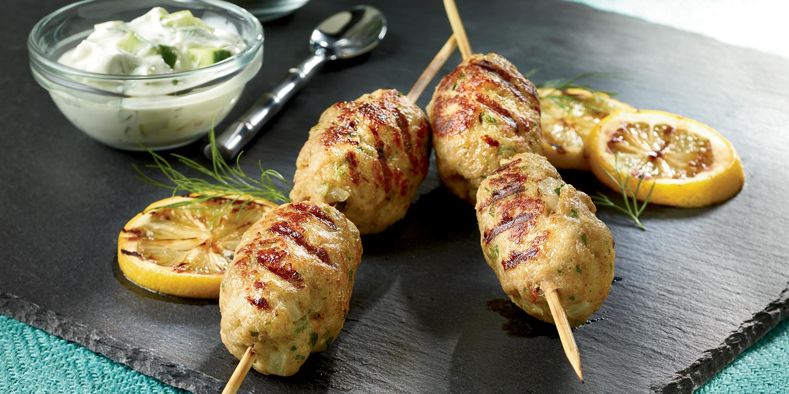 <p>These healthy grilled chicken kabobs are a great source of lean protein, and organic means no antibiotics, toxic pesticides or synthetic hormones too!</p>