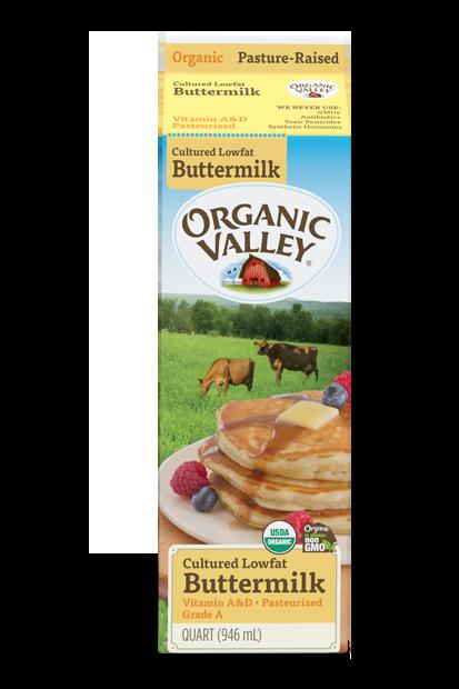 Lowfat 1% Buttermilk, Pasteurized, Quart
