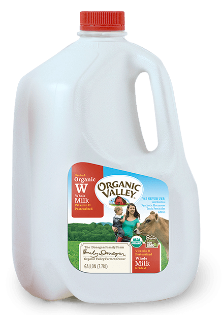 Whole Milk, Pasteurized, Gallon